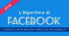 L'Algoritmo di Facebook 2016 [INFOGRAFICA AGGIORNATA]