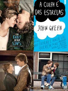A culpa é das estrelas - Livro - Filme - 2014 - Livros que vão virar filme este ano .