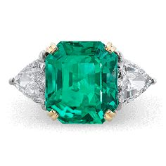 Jewelry Estate Jewelry, Colored Gemstones, Colombian Emerald and Diamond Ring Emerald Jewelry, Diamond Jewelry, Fine Jewelry, Jewelry Necklaces, Emerald Rings, Fancy Jewellery, Silver Jewellery, Jewellery Shops, Bangle Bracelets
