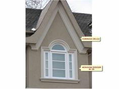stucco window exterior trimexterior homesyard designarcheswindows