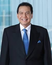 Chairul Tanjung is an Indonesian businessman. He is the former Coordinating Minister for Economics in the Indonesian cabinet. He was appointed to this post by President Susilo Bambang Yudhoyono on 19 May 2014 following the resignation of the previous Coordinating Minister for Economics, Hatta Rajasa, who resigned to take part in Indonesia's 2014 presidential election.[1] In January 2015, he had an estimated net worth of $4.3 billion.