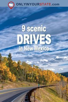 These 9 Beautiful Byways In New Mexico Are Perfect For A Scenic Drive - Travel New Mexico Road Trip, New Mexico Vacation, Travel New Mexico, Taos New Mexico, Route 66 Road Trip, Road Trip Usa, Farmington New Mexico, Voyage Usa, Attraction