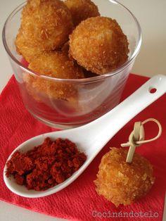Cocinándotelo: HUEVOS CRUJIENTES DE CODORNIZ  Un aperitivo super original y muy fácil de preparar!