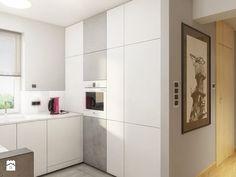 INTERIOR | Silesia 02 - Średnia otwarta kuchnia w kształcie litery u, styl nowoczesny - zdjęcie od Manufaktura Projektów