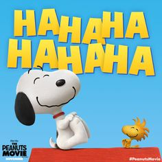 Happiness is laughing with a friend! Grab your best friends and head to The Peanuts Movie on November 6 to watch Snoopy, Woodstock and the entire gang come to life in 3D.