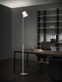 City Office, Corner Desk, Shelving, House, Furniture, Home Decor, Houses, Light Fixtures, Living Room