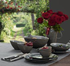 Stijlvol gedekte tafel #dining #tableware