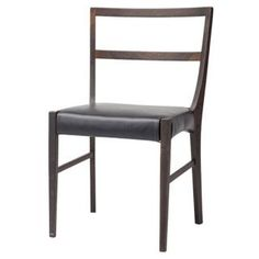 Dining / Kitchen Chairs :: RN-564DC Dining Chair with Black Leather - ARTeFAC Canada