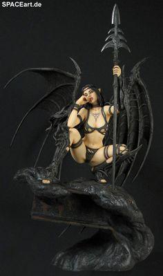 Luis Royo: Black Tinkerbell, Fertig-Modell ... http://spaceart.de/produkte/lry001.php