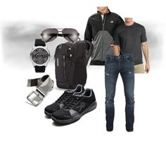 Black and Gray Men's Style Guide - Quantum - Men's Performance Fitness Walking Shoe - kurufootwear.com