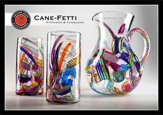 They are in Newport!  Exceptional handblown glass art. Featuring artists Michael Richardson, Justin Tarducci and Timothy Underwood