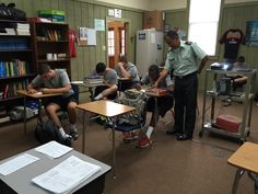 French class! #camdenmilitary