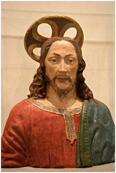 Seguace di Benedetto da Maiano - Cristo Redentore - 1490-1500 - terracotta - Museo Bandini - Fiesole
