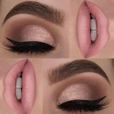 23 stunning prom makeup ideas to show off your beauty .- 23 atemberaubende Prom Make-up-Ideen, um Ihre Schönheit zu verbessern – pinbeauty 23 stunning prom makeup ideas to enhance your beauty - Glamorous Makeup, Glam Makeup, Bridal Makeup, Beauty Makeup, Pink Makeup, Pink Wedding Makeup, Subtle Eye Makeup, Makeup Light, Elegant Makeup