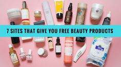 Why pay for beauty products when you can get them for FREE?! Did you know there are several panels you can join that give away FREE full size beauty products and other items too. It's all completely free and all most of them ask is that you tell them what you thought of the free product. Check out the list of