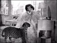 Favorite film, Bringing up Baby, Katherine Hepburn