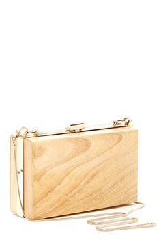 Wood Box Clutch