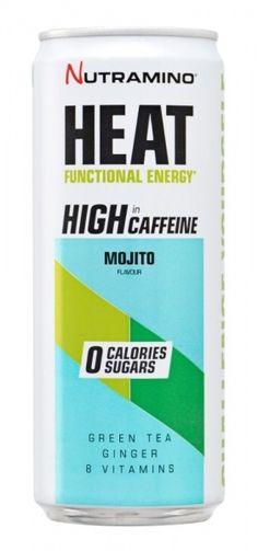 Når du trenger litt ekstra energi er Nutramino HEAT Mojito et godt valg! Mojito, Caffeine, Vitamins, Tea, Life, Vitamin D, Teas