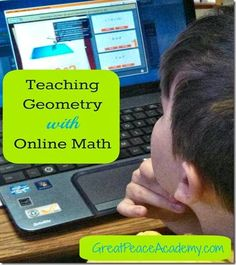 Utilizing Online Math Lessons with Uzinggo to teach Homeschool Math, and science with interactive program Geometry Help, Teaching Geometry, Homeschool Math, Homeschooling, Math Lessons, Science, Peace, Education, Learning