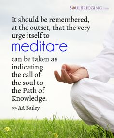 The very urge itself to meditate can be taken as indicating the call of the soul to the path of knowledge. Share this spiritual quote and inspire others. Spiritual Path, Spiritual Awakening, Spiritual Quotes, Wisdom Quotes, Meditation Videos, Mindfulness Meditation, Guided Meditation, Reiki Meditation, Meditation Rooms