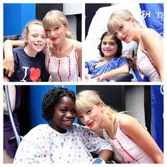 Taylor Swift Visiting Kids In A Children's Hospital In Pennsylvania