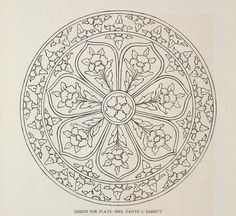 Islamic Art Pattern, Mandala Pattern, Pattern Art, Coloring Books, Coloring Pages, Motif Oriental, Illumination Art, Turkish Art, Sketch Painting