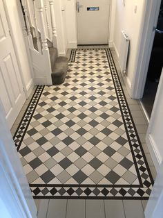Tile shop in Derby supplying slate, marble, mosaic, porecelain, terracotta and victorian tiles for bathrooms and kitchens Entryway Tile Floor, Tiled Hallway, Bathroom Floor Tiles, Hall Flooring, Porch Flooring, Kitchen Flooring, Victorian Hallway Tiles, Victorian Flooring, Hall Tiles