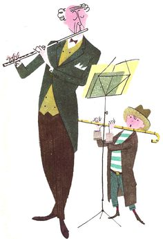 What Makes an Orchestra, written and illustrated by Jan Balet. 1951.