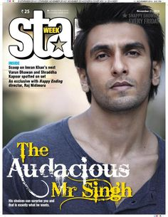 The Audacious Ranveer Singh covers Star Week   PINKVILLA