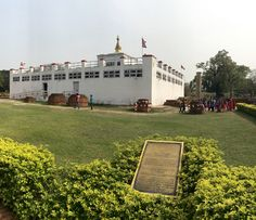 Visit the birthplace of Buddha: Lumbini, Nepal. This UNESCO World Heritage Site is a major pilgrimage destination for anyone wanting to get in touch with their spiritual side.