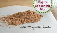 This is my go-to seasoning for fajitas, tacos, burritos, refried beans and dips. I purchased fajita and taco seasoning mix for years until I made it a habit of reading labels. Making my own, ther…