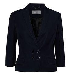 Insert alt text Jigsaw Clothing, Dress Outfits, Fashion Outfits, Dresses, British Style, Cashmere, Blazer, Luxury, Jackets