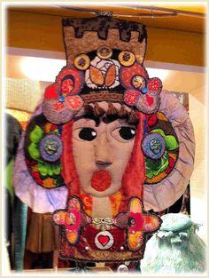 C'est à Honfleur jusqu'au 10 juin inclus ........ - Petits Potins Cousus Main Honfleur, Art Textile, Textiles, Isabelle, Art Dolls, Doll Clothes, Jewlery, Projects To Try, Creations
