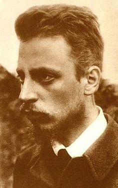 German poet Rainer Maria Rilke (1875-1926)