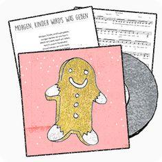 Ein fröhlich beschwingtes Lied, das oft bereits zum Nikolaustag gesungen wird. Aufgrund der zahlreichen Melodiesprünge eher etwas für die älteren Kinder. Das Zwischenspiel könnt ihr gut auf Flöten oder Glockenspielen mitspielen.