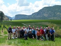 Thanks to Patti- Okanagan Wine Country Tours and the lovely group from Austin, Texas for visiting Blue Mountain Vineyard and Cellars! Enjoy the rest of your tour of Okanagan Wine Country. Tasting Room, Blue Mountain, Austin Texas, Wine Country, Vineyard, Dolores Park, Rest, Thankful, Tours