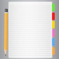 Cuaderno Vector Premium | Premium Vector #Freepik #vector #negocios #escuela #libro #educacion Letra Drop Cap, Foto Doctor, Free Notebook, Best Flats, Fashion Flats, Vector Freepik, Templates, Banners, Diana