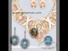 Topaz Birthstone Bridal Wedding Fashion 2015 Gold Jewellery