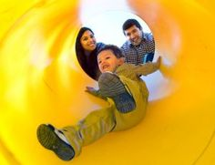 REVERSE COURSE: Cynthia Galvan (left) with her son and boyfriend.