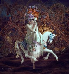 Natalie Shau  One of her more recent, I believe.  The colors are amazing.