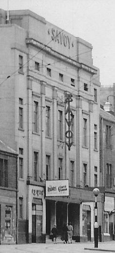 New Savoy Cinema , Hope Street, Glasgow West End Theatres, Glasgow City, Cinema Theatre, Glasgow Scotland, Old Photos, Street View, Junk Journal, World, Random Things