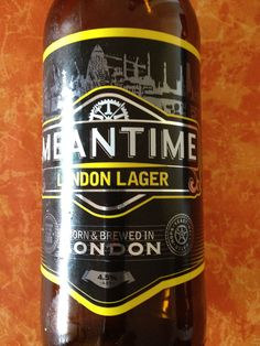 Meantime London Lager  Brewed by Meantime Style: Premium Lager London, England