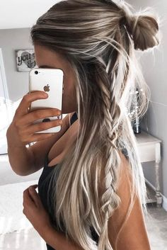 Easy hairstyles for long hair are an important part of our beauty routine on Valentine's Day. These easy hairstyles are a real deal.