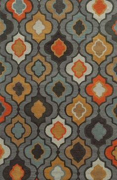 Rizzy Home 'Quatrefoil' Hand Tufted Wool Area Rug available at #Nordstrom