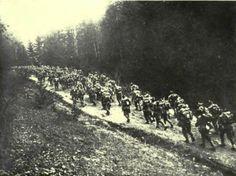 [October The German advance into Romania is stalled by strong defenses at Targu Jiu and Curtea de Arges along with approaching winter. History Of Romania, Romania Travel, Carpathian Mountains, The Province, World War I, Wwi, Armed Forces, Country Roads, Winter