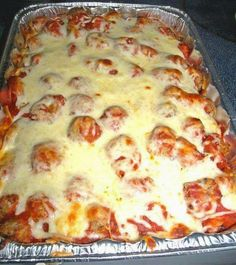 Best Recipes in the World: Meatball Sub Casserole