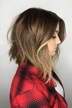 The reason why long bob hair has become a symbol of class and style is not a secret to anyone. But, in case you still unaware of it, it is super versatile, due to its ability to flatter any face shape, or any hair texture, not to mention that there are dozens of ways you can wear it. #haircuts#haircolor#hairstyle