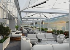 The Super Sexy Sky Room in NYC.  It is Manhattan's Tallest and Sexiest Rooftop Ultra Lounge, and contains the very best, State-of-the-Art heated tents!
