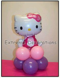 Balloon centerpieces