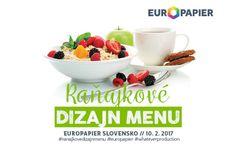 Raňajkové Dizajn MENU – Europapier Slovensko   https://detepe.sk/ranajkove-dizajn-menu-europapier-slovensko